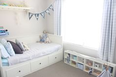 hemnes daybed twin bedroom - Google Search