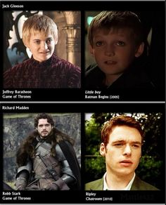 Where have you seen the GOT actors before?