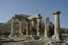 Ruins of Corinth, Greece