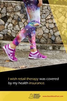 I wish retail therapy was covered by my health insurance. #bootmoodfoot #quoteoftheday Health Insurance, Retail Therapy, Mood, Style, Swag, Health Insurance Coverage, Outfits