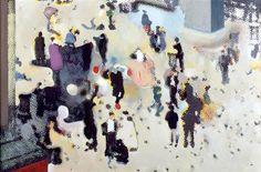 Richard Hamilton / Trafalgar Square / / oil and photographs on wood / Museum Ludwig Koln Art Pop, Richard Hamilton Pop Art, Hamilton Painting, Bill Viola, Watercolor Mixing, Photocollage, Mid Century Art, Collage Artists, Entertainment