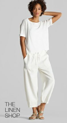 3aa21f6bae8a4 Free Standard Shipping  250+ Shop EILEEN FISHER Easy Dress Collection -  EILEEN FISHER Summer Pants