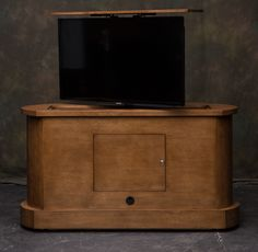 foot of the bed tv lift cabinet set up example by cabinet tronix this is