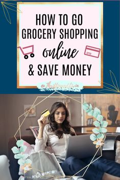 Discover how grocery shopping online can save you money. Learn the pros and cons of online grocery shopping. Plus four tips to save even more money on groceries! Grocery Ads, Grocery Shop Online, Save Money On Groceries, Ways To Save Money, Best Money Saving Tips, Saving Money, Budgeting Money, Working Moms, Shopping Hacks