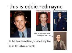 eddie redmayne please