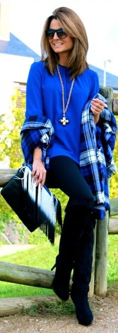 #Klein #Blue  by Oh my Looks => Click to see what she wears