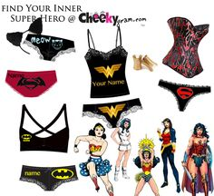 2e1b065416b2 Wonder Woman inspired custom panties! Do I really have to wait until  December 13, 2019 for the next one.