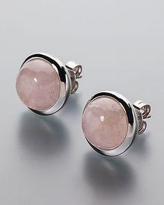 Silber-Ohrstecker mit Morganit online bestellen #sognidoro #sogni #doro #Edelstein #schmuck #gemstone #jewelry 383658 3-3514