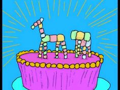 """Hilarious video based on Allie Brosh's story """"God of Cake"""" from her blog Hyperbole and a Half.  It's probably funnier if you read her blog post first."""