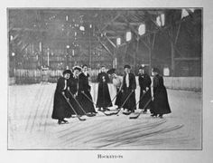 Ontario Ladies' College Hockey Players, 1906
