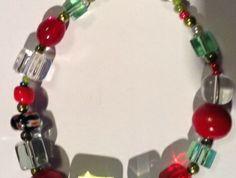 Bracelet  - Christmas colours (BRC007)