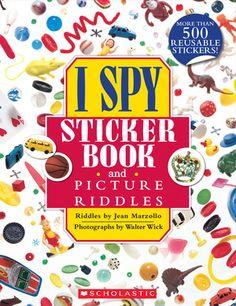 I SPY Sticker Book