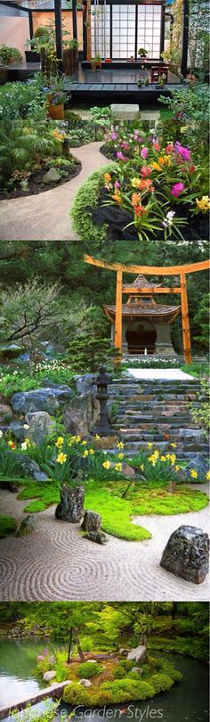 Japanese Garden Inspiration Panoramic via Pinterest @styleestate
