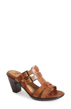 Söfft 'Sascha' Leather Sandal (Women) available at #Nordstrom