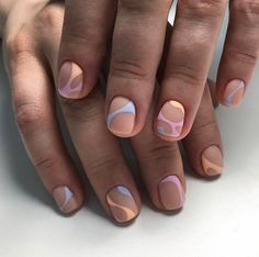 52 creative and simple summer nails design ideas for 2018 solutioingenieria Images