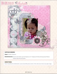Isabella Collection from Bo Bunny - Scrapbook.com