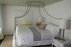 Nice bed frame. Thanks to KAA Architects, Chris Barrett Design and Nelson Daniels Builders.