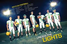 high school football program template - an epic football team poster the background is available