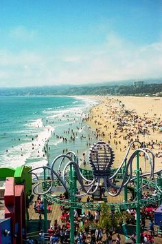 Santa Monica. Take me there!