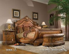Find This Pin And More On Just Thought It Was Cool Bedroom Exotic Wooden Bedroom Furniture