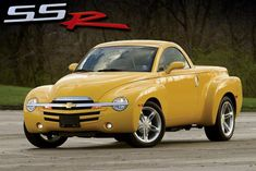 Chevrolet SSR hot truck :) my less-than-practical, adult weekend getaway vehicle. Meow-za!