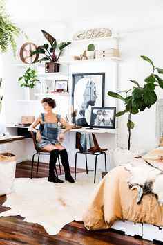 Welcome to Real Living magazine online Ikea Algot, Apartment Inspiration, Inspiration Ikea, Real Living Magazine, Home Office Storage, Ikea Home, Studio Apartments, Australian Homes, Small Space Living