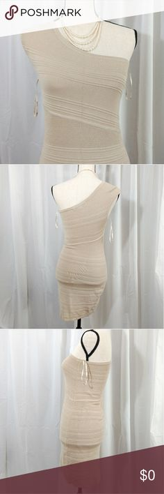 0de5db762043 NWOT FOREVER 21 ONE SHOULDER DRESS Brand new without tag. Slightly  strechable (about 1cm