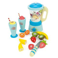 Enter this competition to win a wooden Le Toy Shop fruit smoothie blender from The Wooden Toy Shop