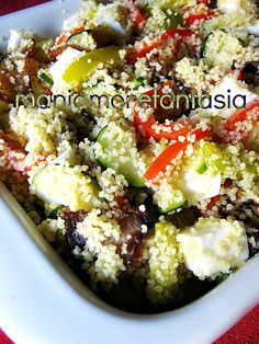 Couscous con verdure croccanti ricetta light