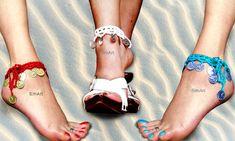 Gypsy anklet,Boho anklet