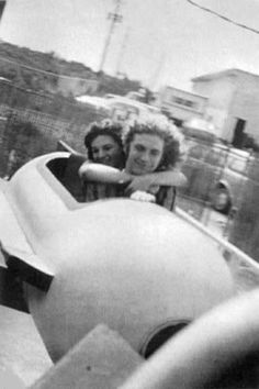 Robert Plant with his then Wife Maureen 1977