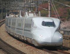 JRW N700-7000series S1 - Primer Shinkansen N700-7000, en la línea Sanyō, abril de 2009
