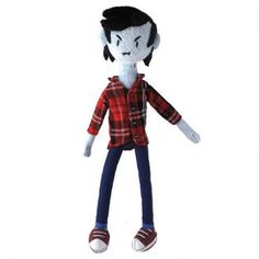 This Adventure Time plush is the gender-swapped version of Marceline the Vampire Queen.