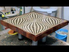 Making a 3D end grain cutting board #1 - All