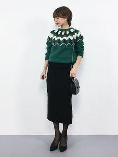 SLOBE IENAのニット・セーター「フェアアイルニット◆」を使ったeriko(ZOZOTOWN)のコーディネートです。WEARはモデル・俳優・ショップスタッフなどの着こなしをチェックできるファッションコーディネートサイトです。