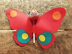 Kleine Geschenke für SchülerInnen: Druckvorlagen | meinUnterricht School, Gifts For Students, Stocking Stuffers, Butterfly Gifts, Butterfly Template, Saying Goodbye, Free Printable, First Day Of School