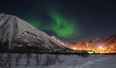 North Russia. #northernlights #auroraborealis