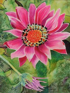 painting on silk 16