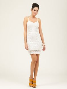 Cotton Crocheted Dress