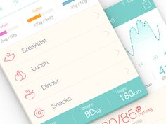 Medical iPhone App UI Design - Pictograms by Ramotion