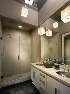 Contemporary Bathrooms in from HGTV