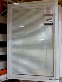 Windows With Blinds Inside Them | The blinds inside the glass panes louver open & close, and also ...