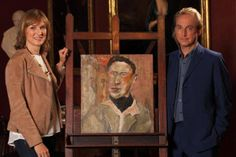 The Lucian Freud painting was denied as fake. The origin of the painting was uncovered on Fake or Fortune presented by Fiona Bruce and art historian Philip Mould Lucian Freud Portraits, Lucian Freud Paintings, Bbc One Show, Fiona Bruce, Scottish News, Antiques Roadshow, Art Articles, Tv Presenters, Denial