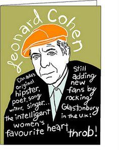 Leonard Cohen: Canada's original Hipster!!