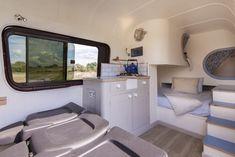 This_Moving_House18 Sprinter Camper, Vw Crafter, Red Vans, Campervan Interior, Amazing Spaces, Moving House, Camper Van, Motorhome, Volkswagen