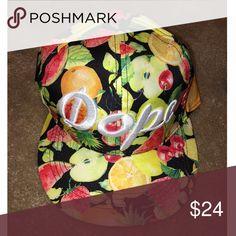 Dope Snap Back Hat Adjustable fruity Snap Back Hat Accessories Hats