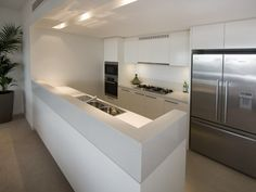 Modern Galley Kitchen Design contemporary galley kitchen design layout | kitchen | pinterest