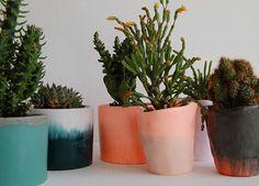 asphalt// planter vase by the good machinery