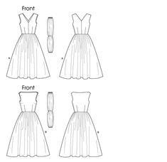 Patron Couture Vogue Vintage Retro 1955 1957 Robes Vestes 1950s Schnittmuster | eBay