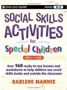 Promoting Success: Life Skills Activities for Special Children Social Skills Lessons, Social Skills Activities, Teaching Social Skills, Teaching Ideas, Work Activities, Creative Activities, Sensory Activities, Bass, Skill Training